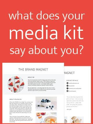 advertising media kit template 1000 images about strategies and business ideas on