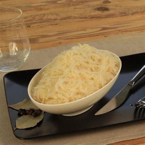cuisiner la choucroute crue choucroute crue choucrouterie meyer wagner
