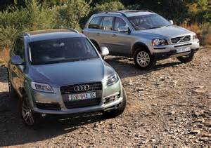 Volvo Xc90 Vs Audi Q7 Audi Q7 3 6 V6 Vs Volvo Xc90 3 2 Leisure Wheels