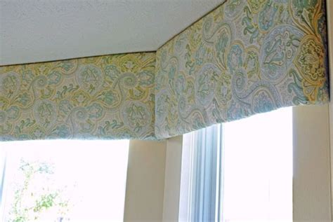 Foam Board Window Valance How To Make An Easy Diy Window Cornice