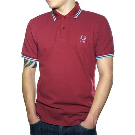Tshirt Fila Classic Buy Side buy fred perry 60 year tipped polo shirt maroon