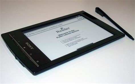 digital picture book sony digital book reader prs t1 test for real