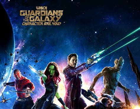 Guardian Quiz Which Guardians Of The Galaxy Character Are You Quiz