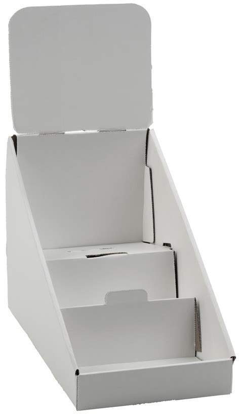 Cardboard Countertop Display by Cardboard Display 3 Tier Countertop Dvd Or Cd Rack