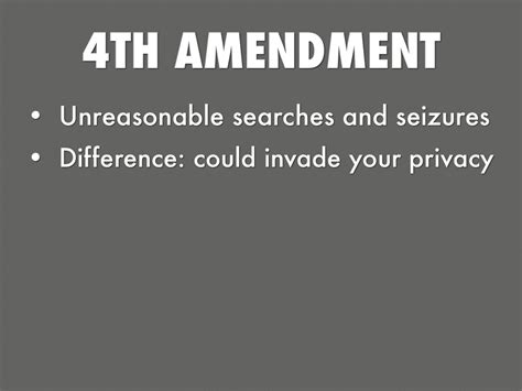 4th Amendment Essay by Constitution Photo Essay By Kuhn