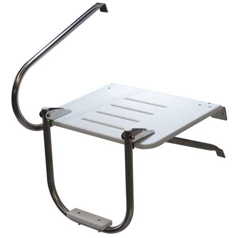 ladder for swim platform on boat outboard swim platform with single step ladder boat