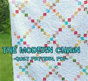 the modern chain quilt pattern tutorial pdf