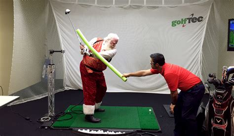 Santa storms GOLFTEC!!! - The GOLFTEC Scramble Golftec