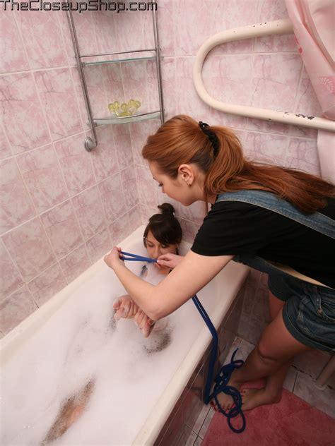 bathroom bondage satisfaction girl and alexa bathroom pleasures clipspool com