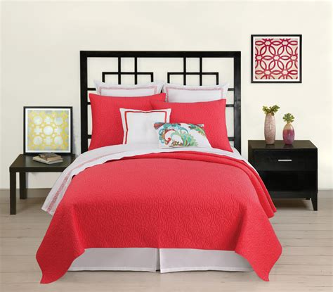 coverlet and duvet santorini coverlet coral by trina turk bedding