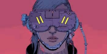 American Wallpaper Design by The Bleak And Charming Cyberpunk Art Of Josan Gonzalez