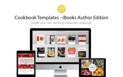 cookbook template mac cookbook templates ibooks author edition 1 2 purchase for