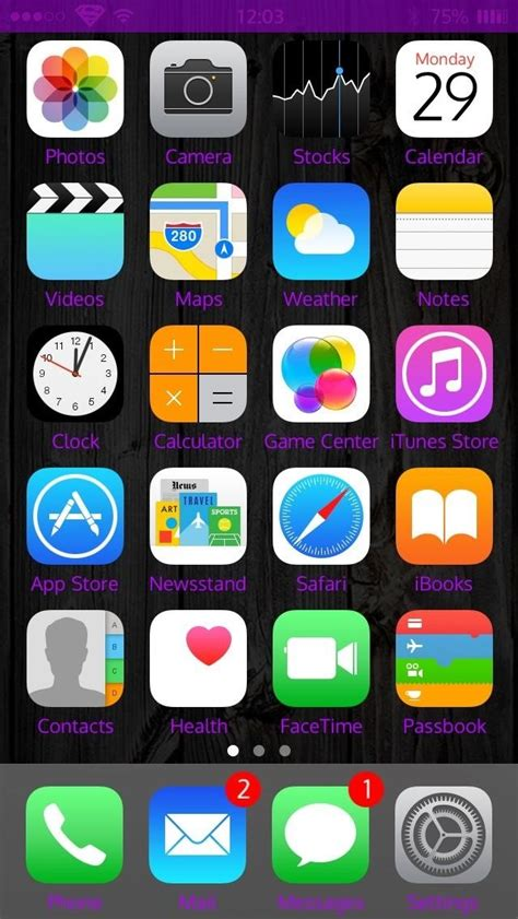 How to Customize Your iPhone's Status Bar & Icon Label ...
