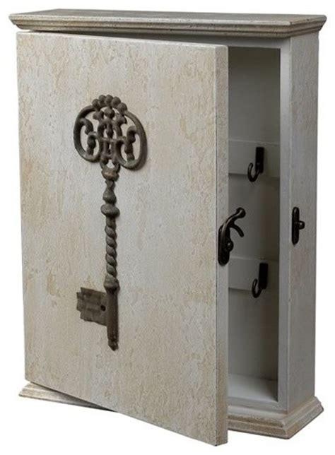 key storage ideas key box distressed country white industrial storage