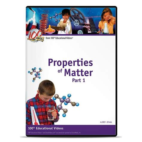 parts of matter properties of matter part 1 schoolvideos