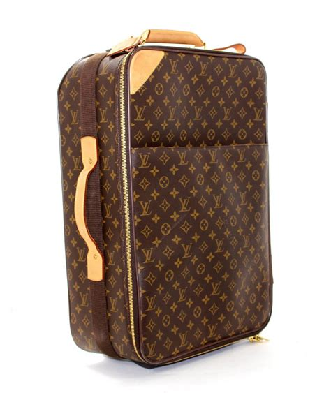 Trolley Bag Lv D6728dew louis vuitton monogram canvas travel rolling trolley luggage 55 at 1stdibs