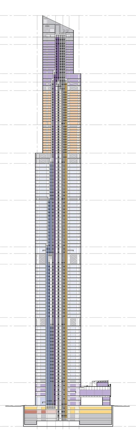 ifc mall floor plan ctf guangzhou kpf archdaily