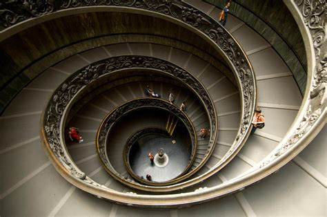 Winding Stair Winding Staircase The Vatican Images Pictures Photos