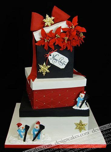 christmas gift box fondant cake best 25 gift box cakes ideas on fondant cake gift cake and