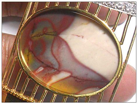 Akik Motif Empat Warna inilah batu akik indonesia termahal yang di lelang di ebay
