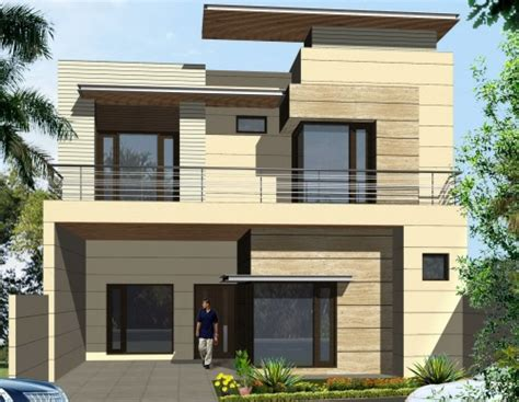 desain rumah atap datar desain atap rumah datar untuk tilan kontemporer
