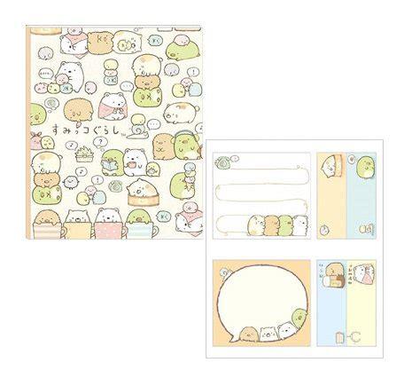 Sumikko Gurashi Sumikkogurashi Sticky Notes A san x sumikko gurashi sticky notes book