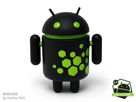 google android collectible mini figures series  unveiled