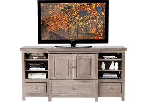 Rooms To Go Tv Stand by Shop For A Valley Gray Console At Rooms To Go Find