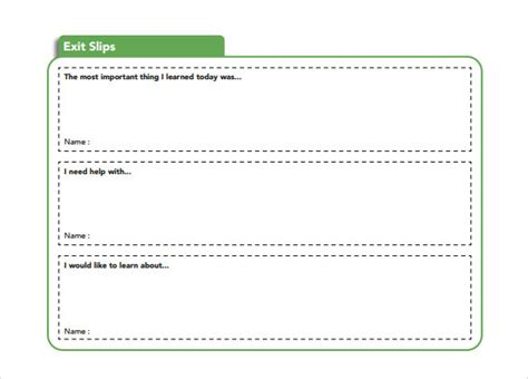 exit slip template slip template 13 free word excel pdf documents