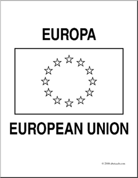 europe flag coloring page europe flaf colouring pages