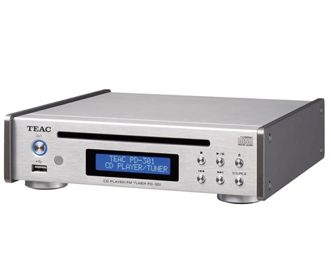 the tuning cd teac pd 301 dab silver cd player w fm tuner usb slot