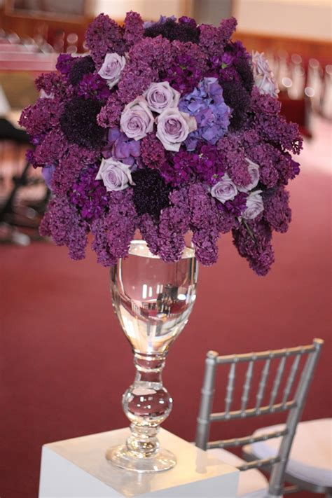 wedding centerpieces ideas with flowers beautiful purple flowers for wedding centerpieces