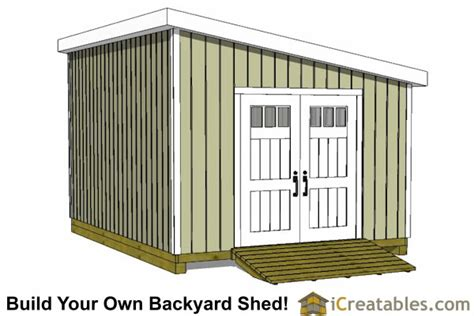 Storage Shed Plans 12x24 by 12x20 Lean To Shed Plans Build A Large Lean To Shed