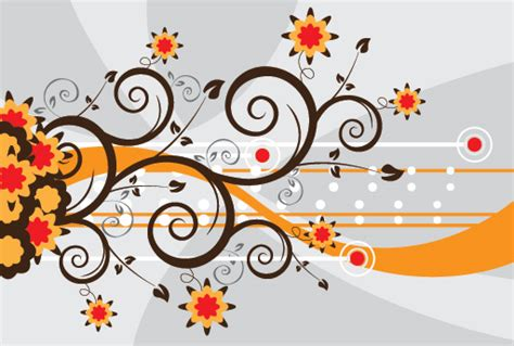 colored beautiful flowers design graphics vector flower 25 colorful vector background graphic designs vector