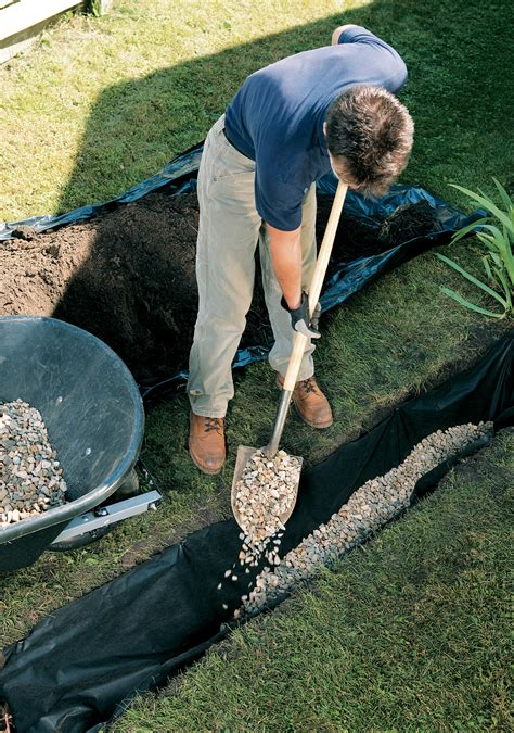 installing a french drain in backyard 1000 ideas about french drain installation on pinterest
