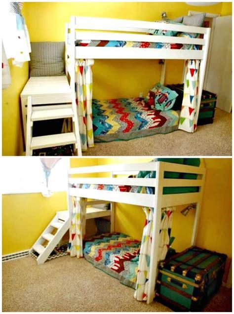 budget diy bunk bed plans  upgrade  kids room