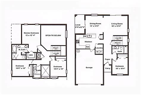 Home Design Layout Floor Plan Affordable Orlando Vacation Home