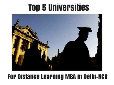 Mba Finance In Delhi Ncr by Top 5 Universities For Distance Learning Mba In Delhi Ncr
