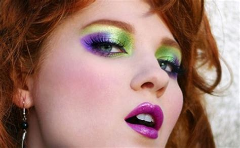 5 Tips To Mastering The 80s Make Up Revival by 80 S Makeup Eye Makeup Ideas