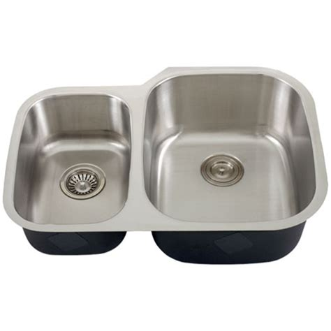 kitchen sink accessories ticor s315r undermount stainless steel double bowl kitchen