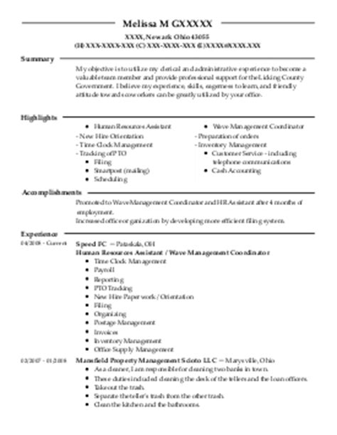 Veteran Resume Service by Veterans Service Representative Resume Exle Department