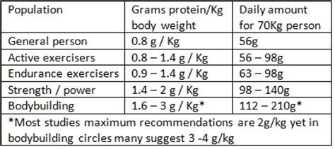 protein grams per day how much protein per day protein diet foods list