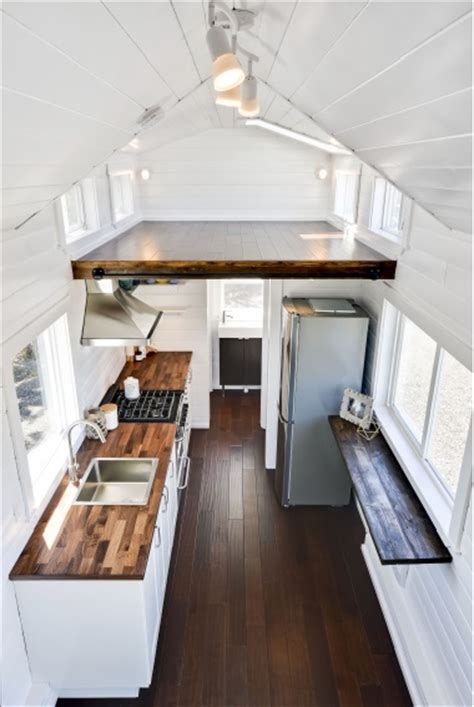 luxury mint tiny home