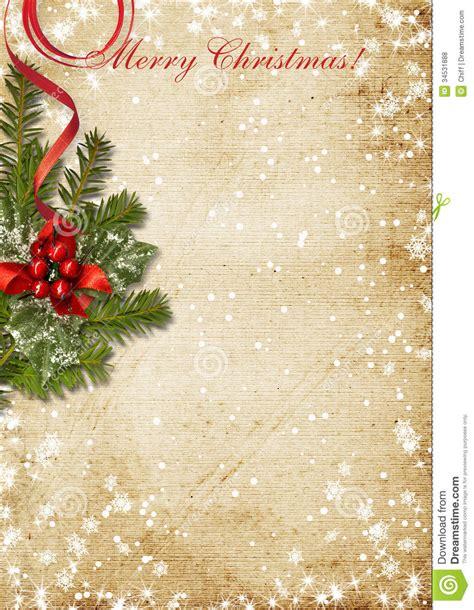 imagenes navideñas retro cart 227 o de natal do vintage com o azevinho ilustra 231 227 o stock