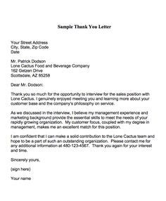thank you letter after hr assistant 1000 images about resume cover letter thank you note