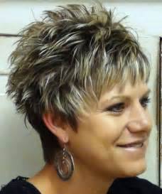 spiky hairstyles for 50 20 elegant haircuts for women over 50