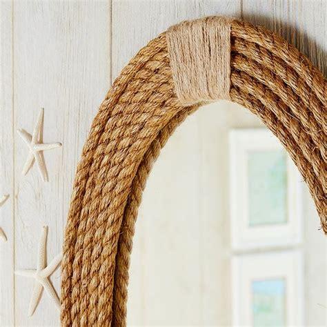 come fare una cornice in legno decorare uno specchio con una cornice fai da te in corda