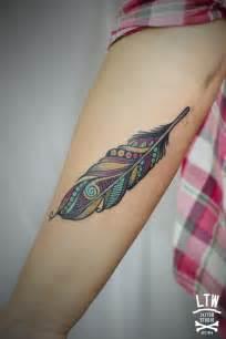 tattoo pluma pluma por claudia