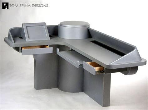 Office Desk Theme Custom Trek Desk Inspired By Tv Sets Tom