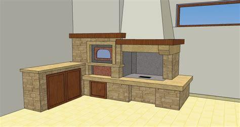 camini rustici con forno a legna caminetto con forno